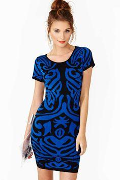 Nasty Gal Shades Of Night Dress $58