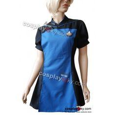 Star Trek TNG The Next Generation Teal Skant Uniform Kostüm | CosplaySky.de