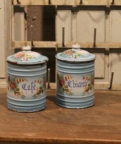 French canisters/oh love theses