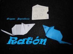 Origami - Papiroflexia. Tutorial: Ratón, dificultad media