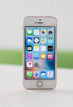 Apple's new smartphone, the iPhone SE