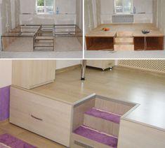 Подиум в детской комнате | http://www.babyroomblog.ru/