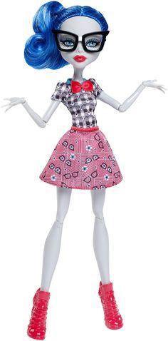 Monster High Geek Shriek Ghoulia Yelps Doll