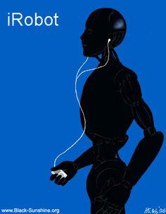 iRobot by hellena on DeviantArt Best Sci Fi Movie, Sci Fi Movies, Movie Tv, I Robot, Robot Art, Infj Famous, Surrealism Art, Artificial Intelligence, Ui Design