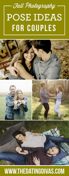 Fall Photography Pose Ideas for Couples