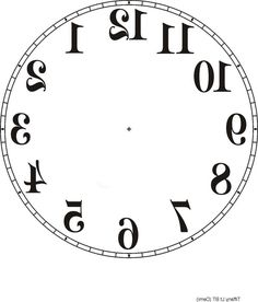 24 Best PRINTABLE CLOCK FACES images   Clock faces ...