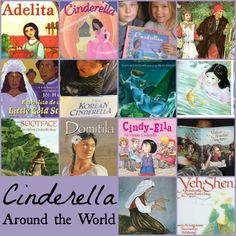 Cinderella Around the World- great lesson for elementary schools. Familiar story with cultural twists and diverse characters.
