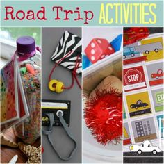 Are we there yet? Road Trip Activities for kids.