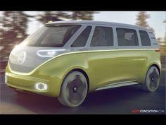 Volkswagen Microbus Concept Unveiled at Detroit Auto Show - AutoConception.com