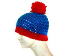 wikiHow to Crochet a Stan Marsh (from South Park) Hat -- via wikiHow.com