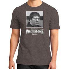 Brendan Dassey Wrestlemania Shirt Road to 2048 District T-Shirt (on man) Shirt