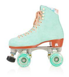 Vintage Mint Roller Skates