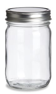 Eco Mason Glass Jar 12 oz w/ Silver Lid - this website will come in handy when it comes time to actually planning my wedding