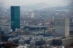 Primetower Zurich, San Francisco Skyline, Skyscraper, Multi Story Building, Travel, Skyscrapers, Viajes, Trips, Traveling