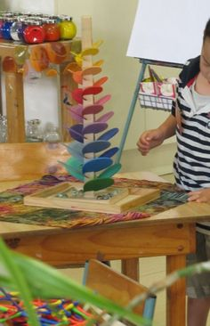 Watch the short video of this on the link...I want one!  Irresistible Ideas for play based learning » Blog Archive » musical marble run