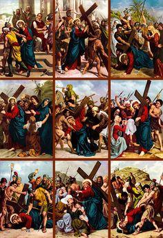 BLOG CATÓLICO GOTITAS ESPIRITUALES: PERSONAJES DE LA PASIÓN DE JESÚS