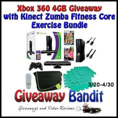 What to win a great XBox 360 Bundle then head on over to Giveaway Bandits site to enter to WIN http://www.giveawaybandit.com/xbox-giveaway