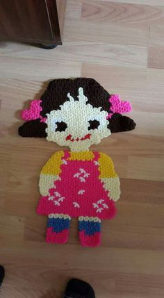 Helly Hansen, Diy And Crafts, Arts And Crafts, Crochet For Kids, Plastic Canvas, Hair Pins, Tatting, Applique, Spring