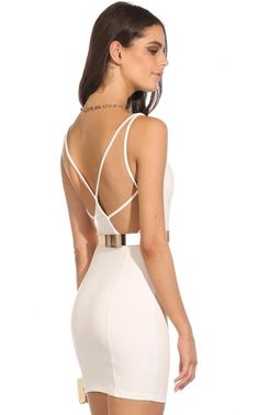 backless dress $40 Netball, Party Dress, Backless, White Dress, Outfits, Clothes, Dresses, Fashion, Vestidos