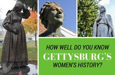 How well do you know Gettysburg's women's history? March Month, Ghost Tour, Women's History, Gettysburg, During The Summer, Continue Reading, Pennsylvania, Did You Know, Things To Do
