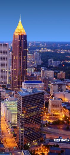 Atlanta | USA | by eTips Travel Apps