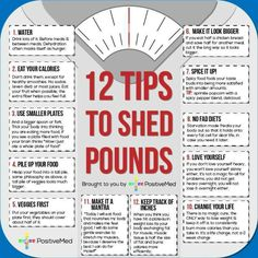 Tips to shed weight