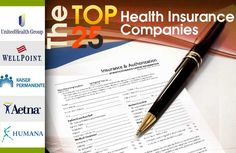 Top 25 Health Insurance Companies  http://mentalitch.com/top-25-health-insurance-companies/