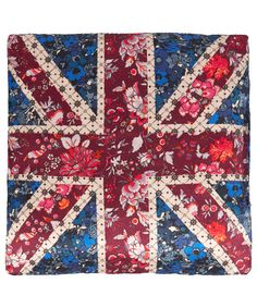 Liberty London Collections Red Union Jack Print Lavender Bag