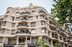 "See 6810 photos and 430 tips from 45153 visitors to La Pedrera (Casa Milà). ""In addition to the famous sculptures, the rooftop gives an amazing scenic. Famous Sculptures, La Pedrera, Antoni Gaudi, Barcelona Travel, Spain Travel, Rooftop, Explore, Mansions, House Styles"