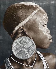 Sudan. Nuba woman // Jan C. Schlegel