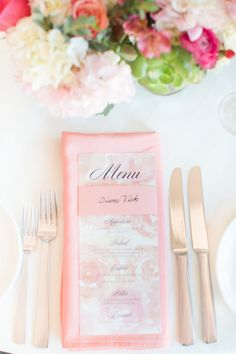 A Classic Wedding with A Coral and Pink Palette