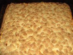 Rezept: Quarkkuchen auf dem Blech