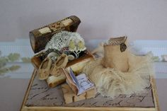 Miniature scene. I used to dance by dementeamano on Etsy