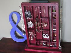 Jewelry Display Case by BlackForestCottage on Etsy, $61.00
