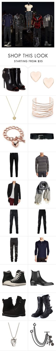 """""""The Pack - Trip to London"""" by sonictf ❤ liked on Polyvore featuring Nasty Gal, Givenchy, Ted Baker, Michael Kors, Alexis Bittar, Juicy Couture, Lauren Ralph Lauren, Jack & Jones, C/89 and Hart Schaffner Marx"""