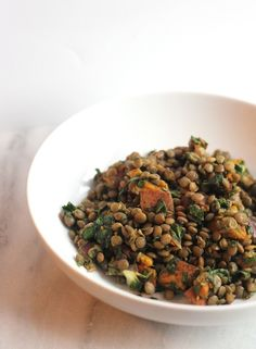 Add Some Substance to Your January Detox With This Lentil Salad