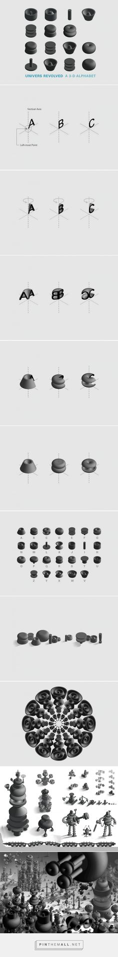 The genius of creative director Ji Lee – 3D alphabet