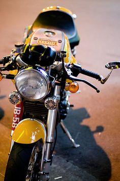 Ducati Sport 1000 One of my favorite bikes! Cafe Bike, Cafe Racer Bikes, Cafe Racer Motorcycle, Moto Bike, Cafe Racers, Ducati Sport 1000, Chopper, Retro Bikes, Ducati Sport Classic