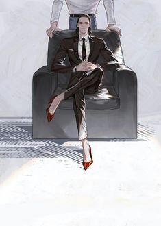 Mr. Laufeyson 1/3 || ThorKi AU || Cr: 黑桃