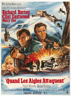A Year of Spy Films 353/365 Where Eagles Dare (1968 United Kingdom / United States) The International Spy Film Guide Score: 9/10  #isfg #spyfilmguide #alaistairmaclean #clinteastwood #richardburton #spymovie #spyfilm #ww2 https://www.kisskisskillkillarchive.com