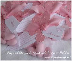 Great for baby shower or wedding as an escort sitting placement/ party favors