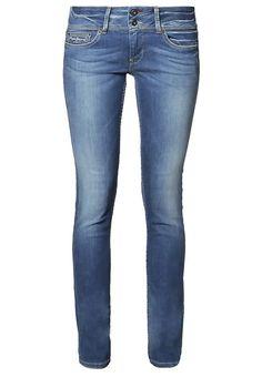 Diese Slim Fit begleitet dich zuverlässig durch deinen Alltag. Pepe Jeans LADIES  EDITION - Jeans Straight Leg - bleached denim für 59,95 € (20.04.17) versandkostenfrei bei Zalando bestellen.