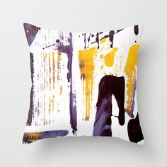 Cushion cover in happy summer colors Indoor and by studioRS, $35.00
