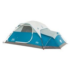 Coleman Juniper Lake 4 Person Instant Dome Tent with Annex Camping Shelter New Best Tents For Camping, Tent Camping, Camping Gear, Camping Cabins, Camping Guide, Camping Stove, Glamping, Minivan Camping, Camping Jokes