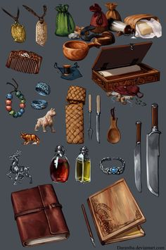 ArtStation - Dragon Age - Items, Linda Lithén