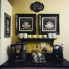 Tuscan coffee bar, By Holiday And Home Decor