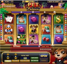 Introducing Pet Palace, our first slot machine redesigned! <3