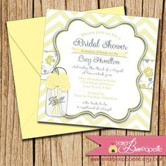 Shabby Chic Bridal Shower Invitation  Choose by LetterBeePaperie, $12.00
