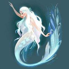 Siren Print Inspired by The Little Mermaid ballet, this is a print reproduction of a digital… Mermaid Drawings, Art Drawings, Mermaid Paintings, Mermaid Artwork, Fish Artwork, Printable Poster, Mermaids And Mermen, Fantasy Mermaids, Pretty Mermaids