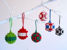 Make Your Own LEGO Christmas Ornaments and Impress Your Friends ...